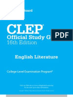 Clep College Exam - English Literature