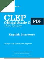 Clep College Exam - English Literature