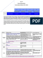 Y9 Depth Overview 2012-2013