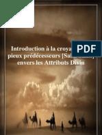 Introduction à la croyance des pieux prédécesseurs [Salaf Salih] envers les Attributs Divin
