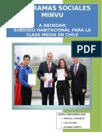 Informe Subsidio Clase Media