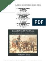 2007 Canciones españolas en el sudoeste de los Estados Unidos