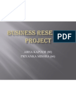 Business Research Project