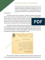 Integração incompleta das instituições preservacionistas e culturais de Minas Gerais