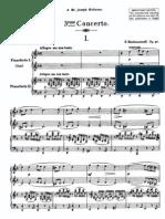 Rachmaninoff Piano Concerto No. 3 in D Minor