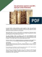 Exportaciones Peruanas Cayeron Casi 20