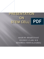 Presentation Stem Cells