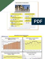 Indicadores Financieros en Graficos del Banco Vimenca