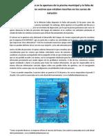 Nota de Prensa Piscina IULV-CA de Bollullos de La Mitacion 05072012