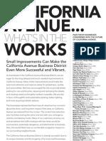 Opposition to City of Palo Alto (CA) California Avenue Streetscape Project (2012)
