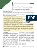 Environmental Transformations of Silver Nanoparticles