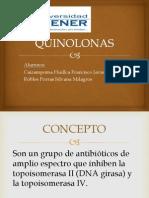 EXPOSICION QUINOLONAS