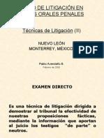 4 Tecnicas de Litigacion 2