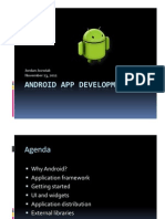 Android ApplicationDevelopment