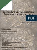la importancia de la antropología forense en los crímenes de guerra