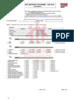 Reglamento FAS - 2012