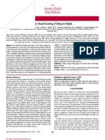 The Visual Scoring of Sleep in Adults