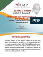 Semana 7 Programa de Intervencion en Dislalias y Rsl