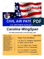 North Carolina Wing - Jun 2012