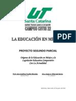 Historia de la Educación en México y la Situación Actual