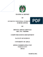 IT Technical Report Ahmad Ibitoye