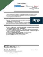Sandeep Exp Resume
