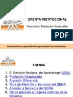 Portafolio de Servicios Sena Desplazados 2011