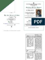Tone _5_ Plagal 1-15 July 2012 - 6 AP - 6 Matt- Light of Life- Holy Fathers
