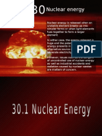 Chapter 30 Nuclear Energy