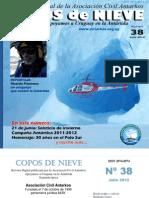 Copos de Nieve Nro 38 Julio 2012