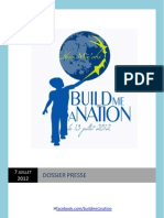 Dossier Presse Buildmeanation