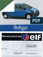 Manual del Usuario/Propietario Renault Twingo 1997