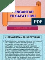 Pengantar Fil.ilmu