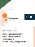 Filsafat Ilmu-Kuliah NR