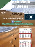 8-Week Walk With Jesus