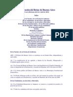 Constitución del Reino de Buenos Aires (Con Reforma del 6 de Abril de 2010)