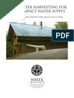 Roof Water Harvesting 3mb