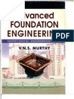 Advanced Foundation Engineering