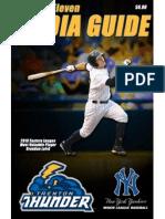 2011 Trenton Thunder Media Guide