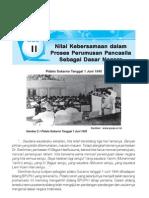 PKn 6 SD Nilai Kebersamaan Dalam Perumusan Pancasila