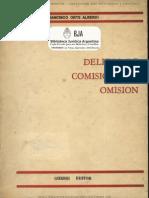 Delitos de Comision Por Omision - Francisco Orts Alberdi