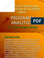 Algebra Lineal 11.03.2010