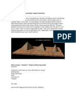 How to Build Pyramids and Other Orgone Generators