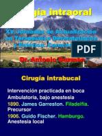 Cirugía intraoral
