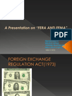 Fera and Fema Ppt