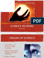 Science in Vedas