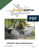 2010-2011 Sponsorship Packet