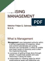 Nursing Management Lecture