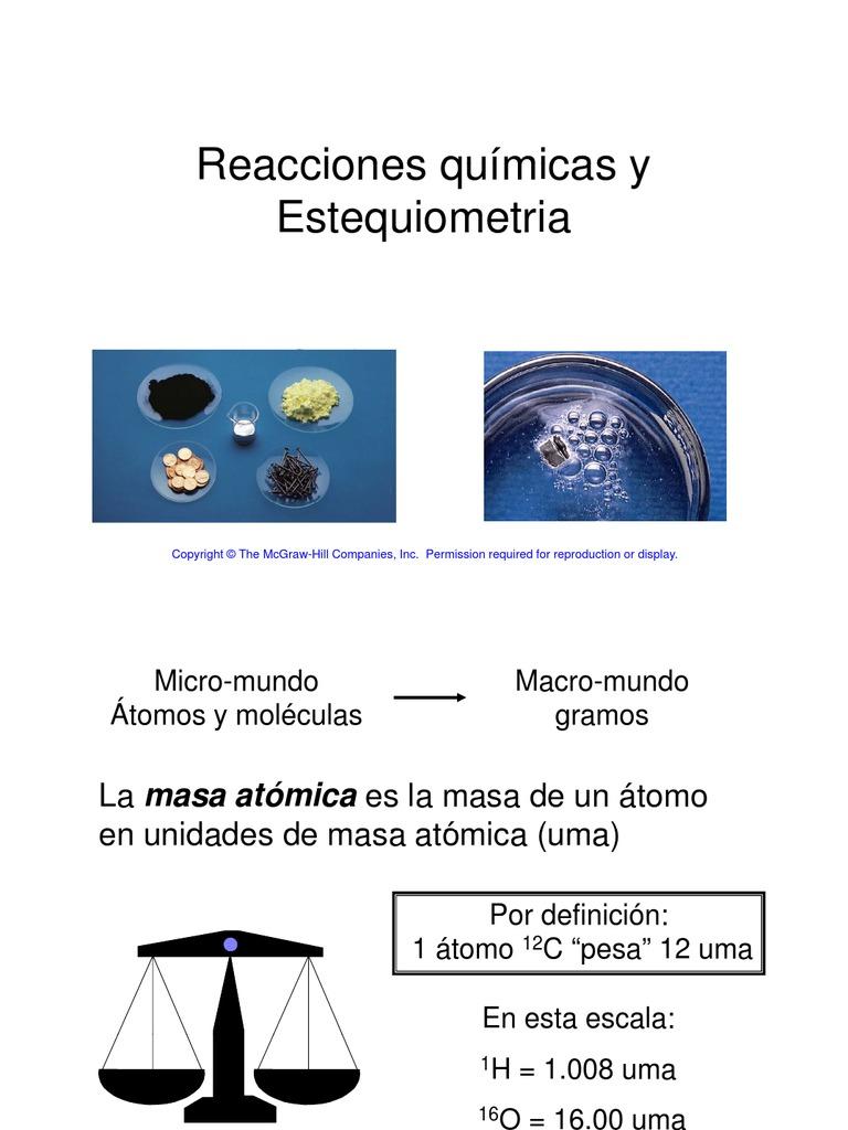 reacciones-Qimicas-Estequiometria