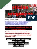 Noticias Uruguayas Domingo 8 de Julio Del 2012